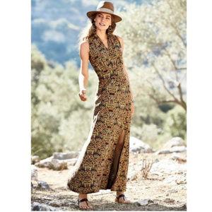 Peruvian Connection Hira Maxi Dress Sleeveless